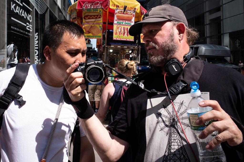 Tim Huynh et Matt Weber
